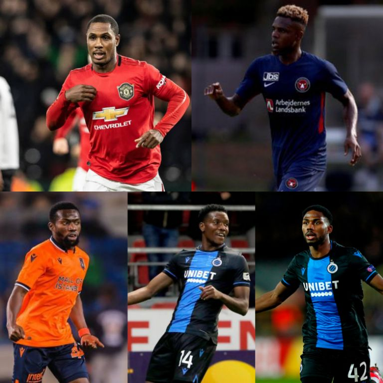 Five Nigerian Players Set To Feature In 2020/21 UEFA Champions League Group Stage