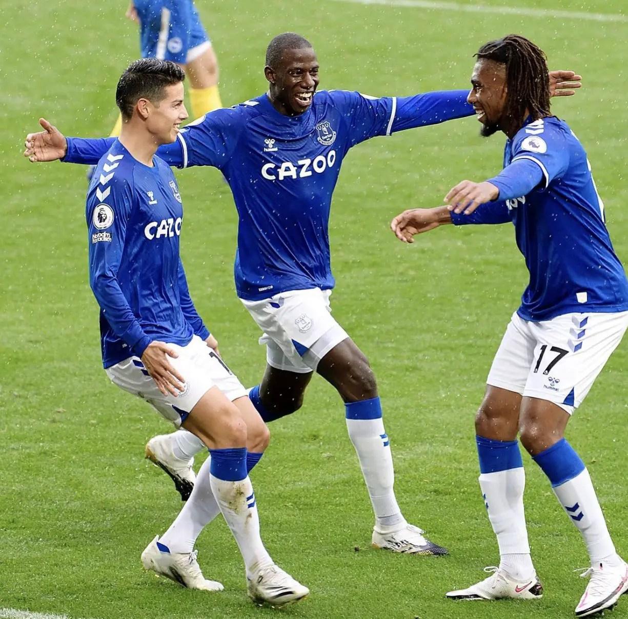 Bolasie Hails Iwobi After Everton's  Win Vs Brighton