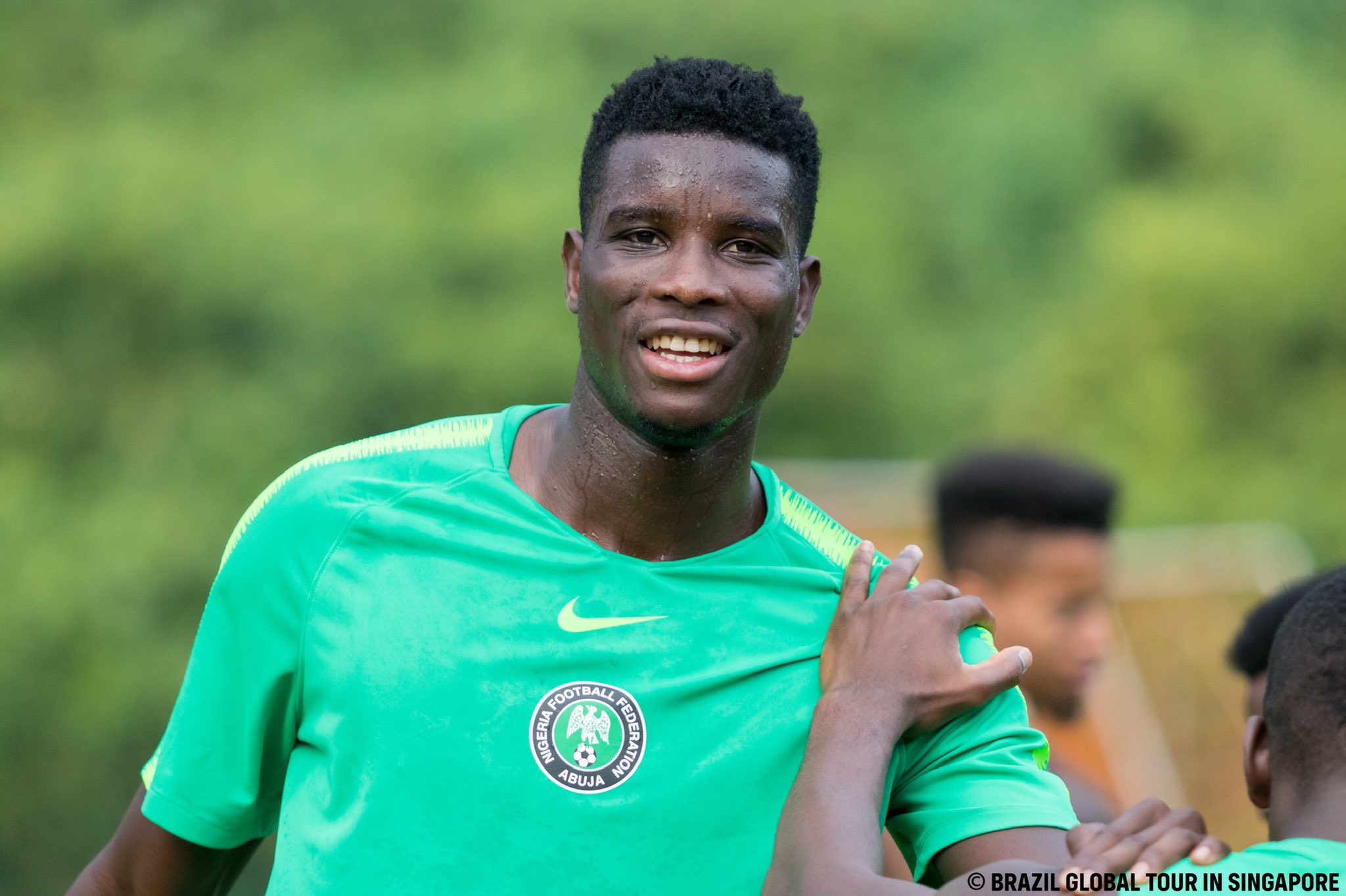 Onuachu Replaces Injured Simon For Sierra Leone Games