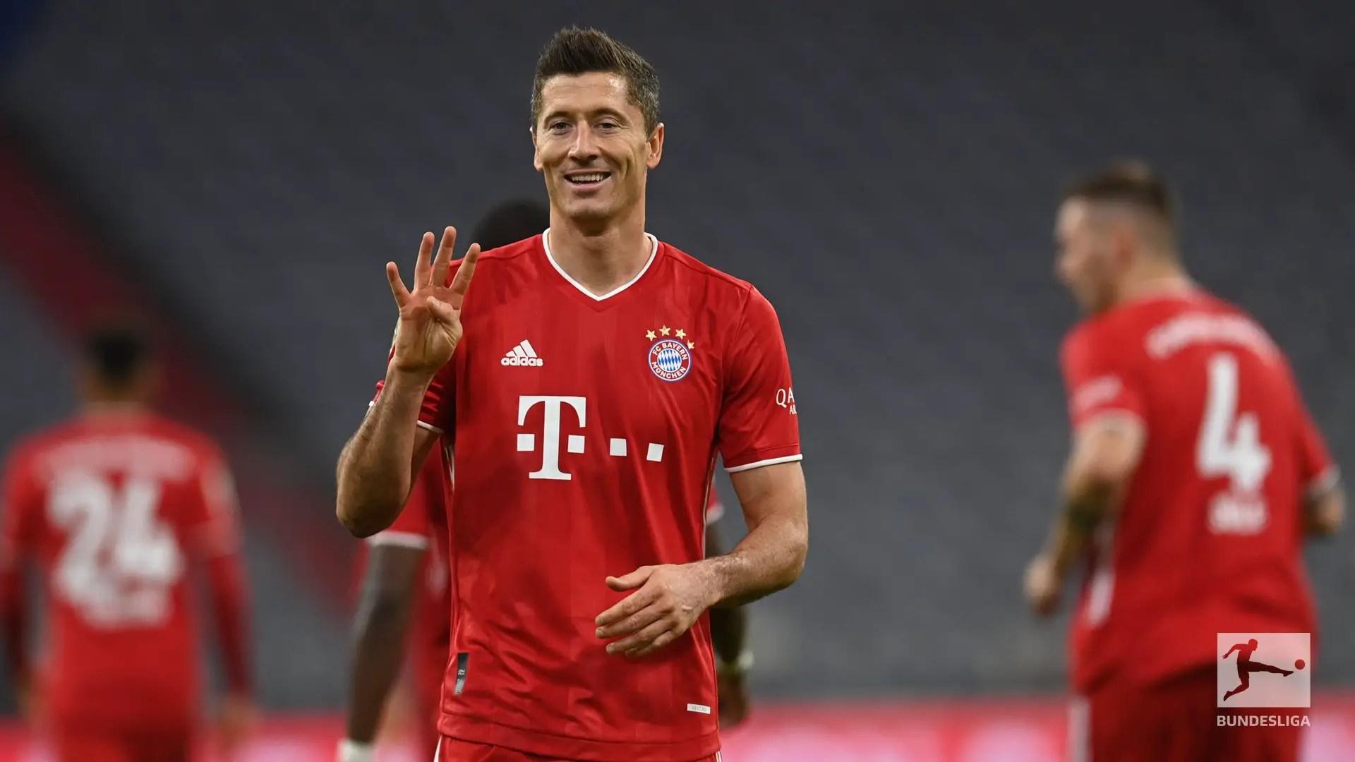 Bundesliga: Lewandowski Bags Four Goals, Creates Milestone, As Bayern Overcome Hertha Berlin In Seven-Goal Thriller