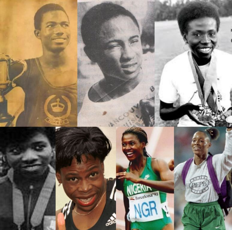 Athletes Who Made Athletics The King of Nigerian Sports!