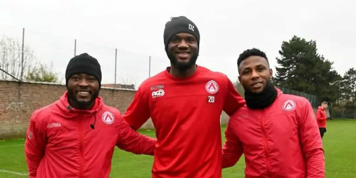 Belgian Club KV Kortrijk Terminate Contracts Of Ajagun, Ezekiel