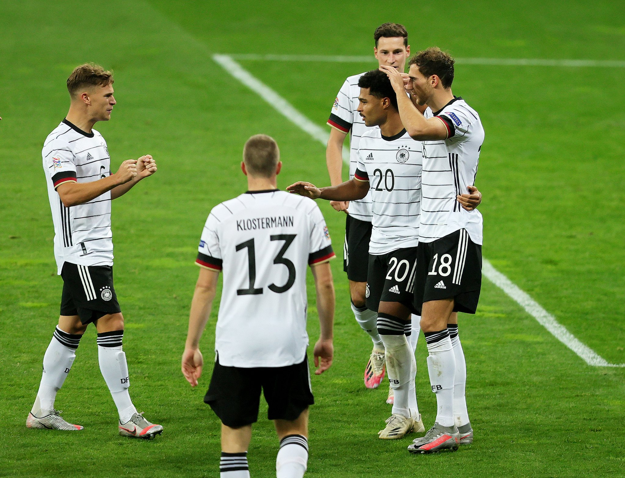 Germany Beat Ukraine To Secure First Ever Nations League Victory; Spain Pip Switzerland
