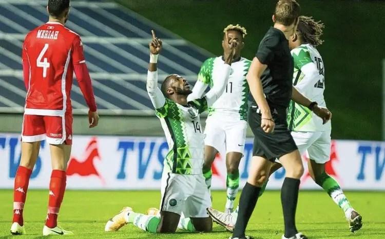 Iheanacho On Target As Super Eagles, Tunisia Draw In Friendly