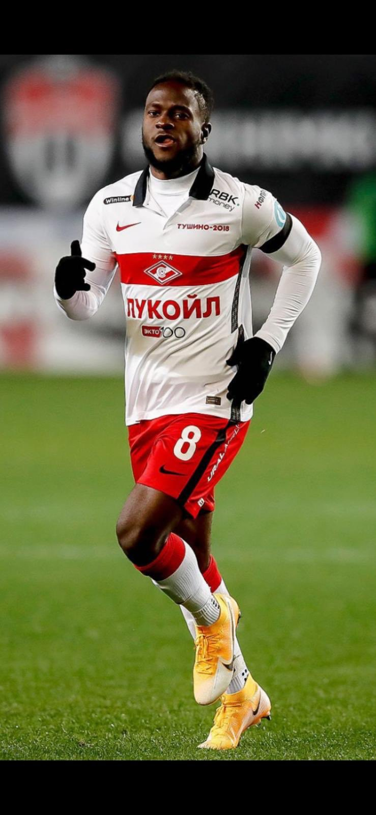 'He Likes Moscow'-  Spartak Chief  Reveals Moses Has Adapted To Life At New Club