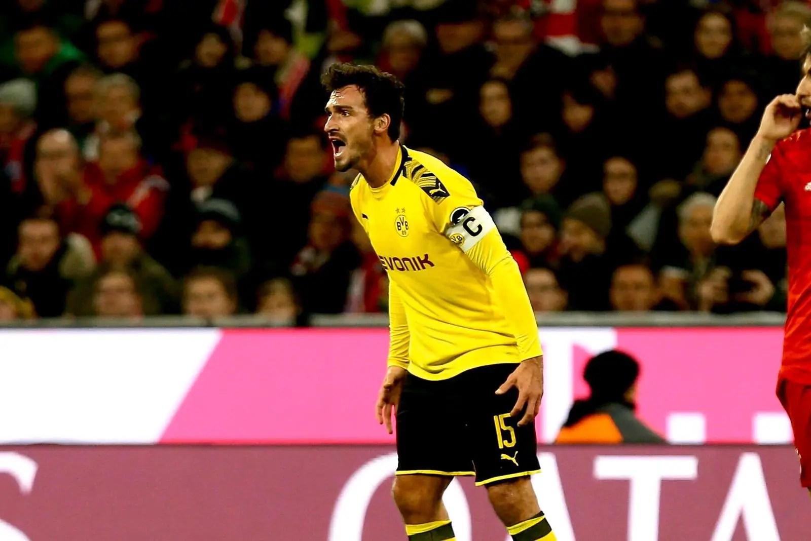 Dortmund Vs Schalke – Hummels: 'Why Bundesliga Position Doesn't Matter In Revierderby'