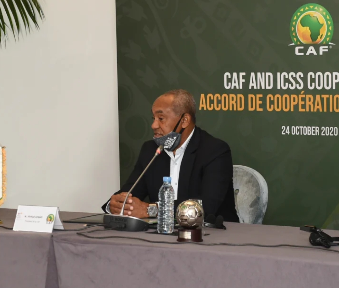 CAF President Ahmad Ahmad  Contracts Covid-19, Self-Isolates