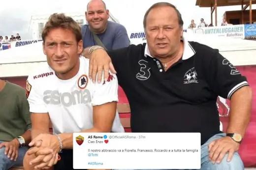 Roma Legend Totti's Father Dies Of Coronavirus