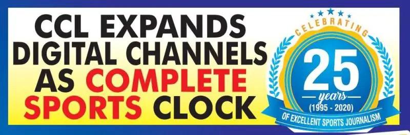 CCL Expands Digital Channels As Complete Sports Clock 25