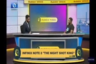Celebrity Talk Show Rubbin Minds With Ebuka