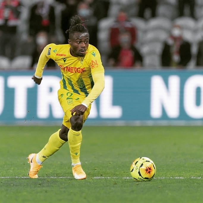 Simon Up  For Nantes Player Of The Month Award