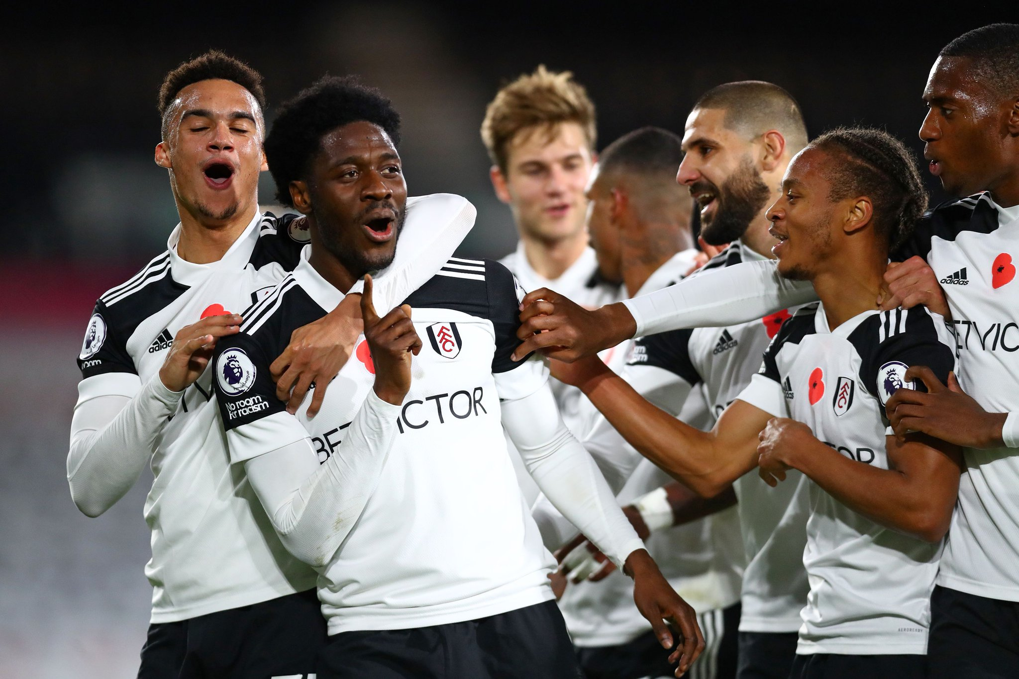 Premier League: Aina On Target, Ajayi In Action As Fulham Beat West Brom To Claim First Win