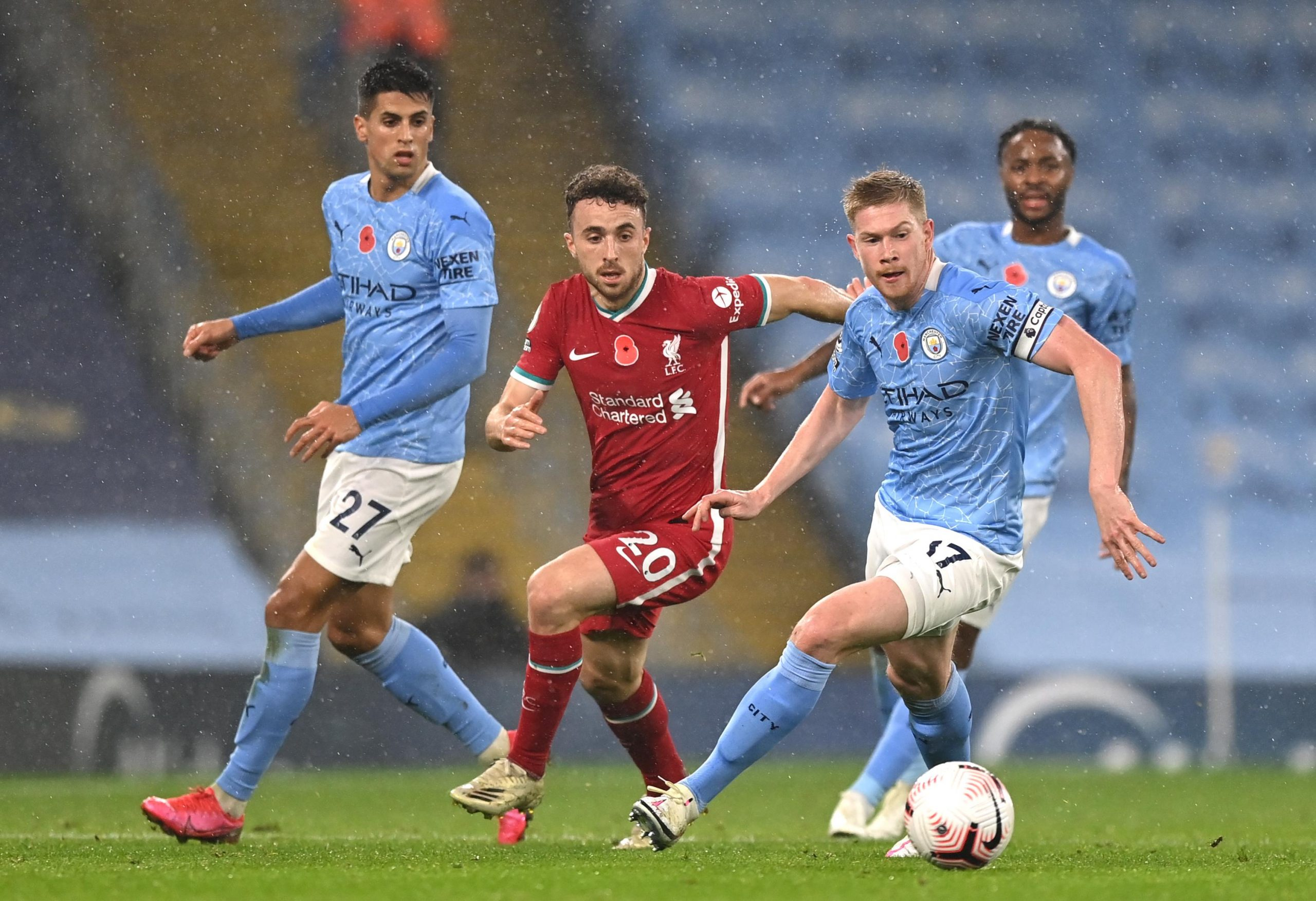 Premier League: De Bruyne Misses From The Spot As Liverpool Hold Man City