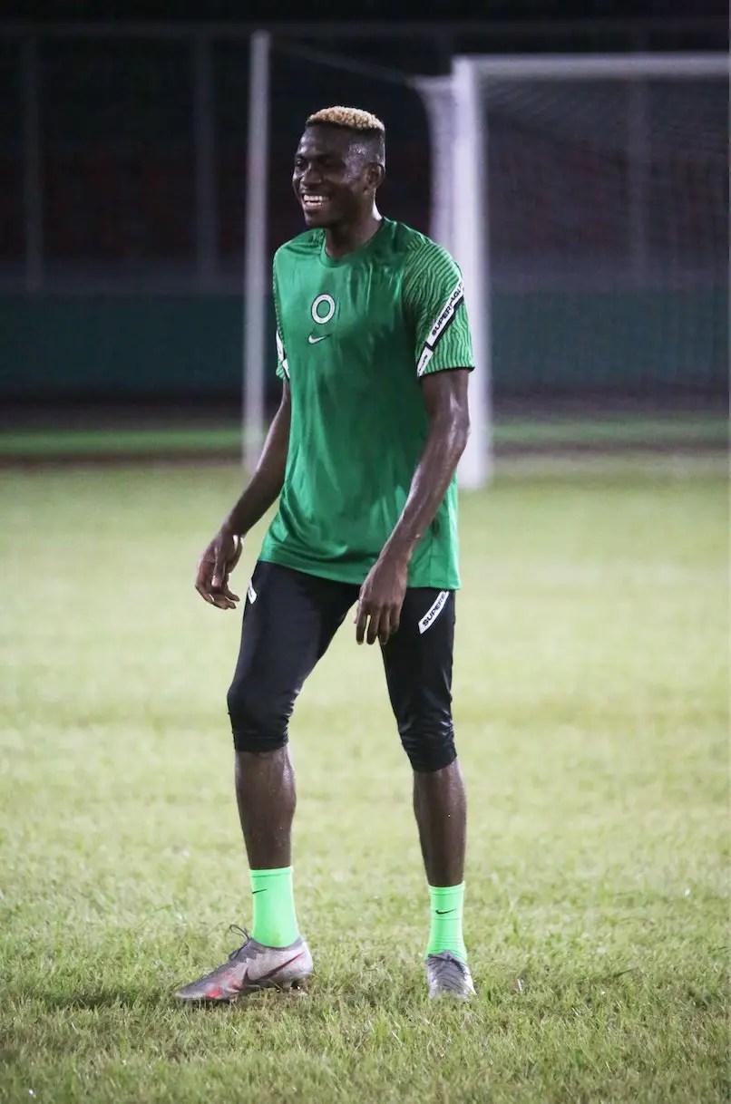 Osimhen: How I Can Surpass Yekini's Huge Super Eagles Achievement