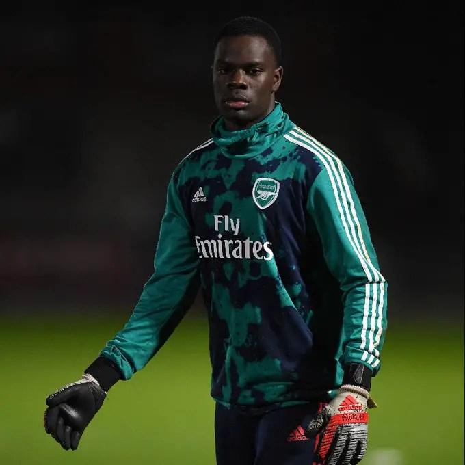 Arsenal Goalie Ejeheri Wanted By Nigeria ,England And Uganda