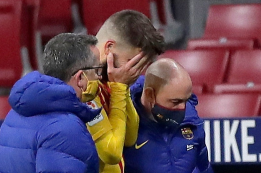 Pique Facing Six Months Out With Knee Injury
