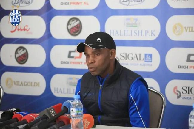 Albanian Club KF Tirana Sack Nigerian Coach Egbo