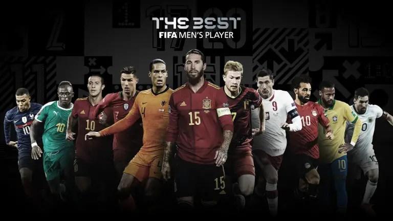 Messi, Ronaldo, Lewandowski, Mane Nominated For 2020 FIFA Best Player Award