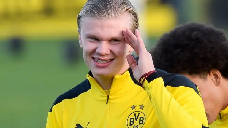 Dortmund's Haaland Wins 2020 Golden Boy Award