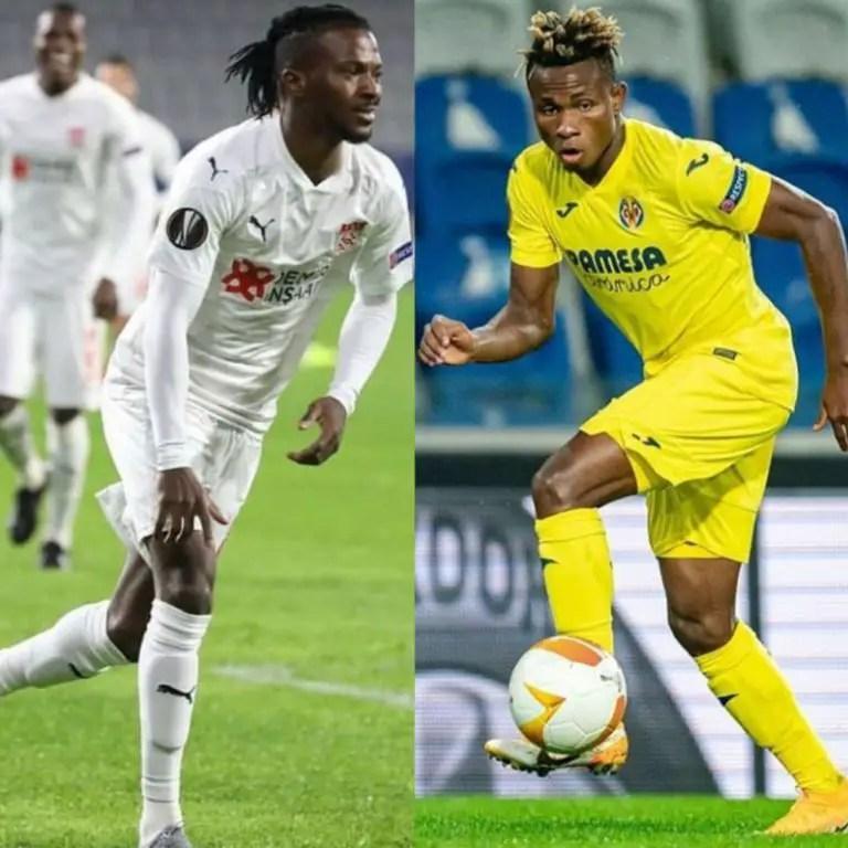 It's Kayode Vs Chukwueze As Sivasspor Host Villarreal In Europa League