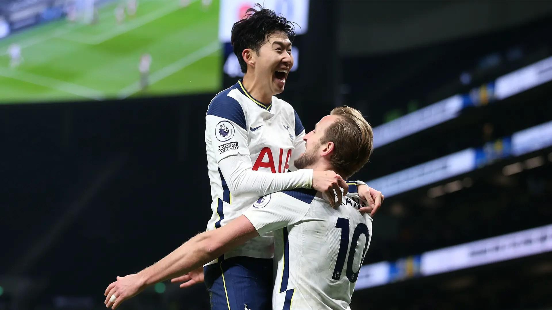Mourinho Hails 'World Class'  Son, Kane