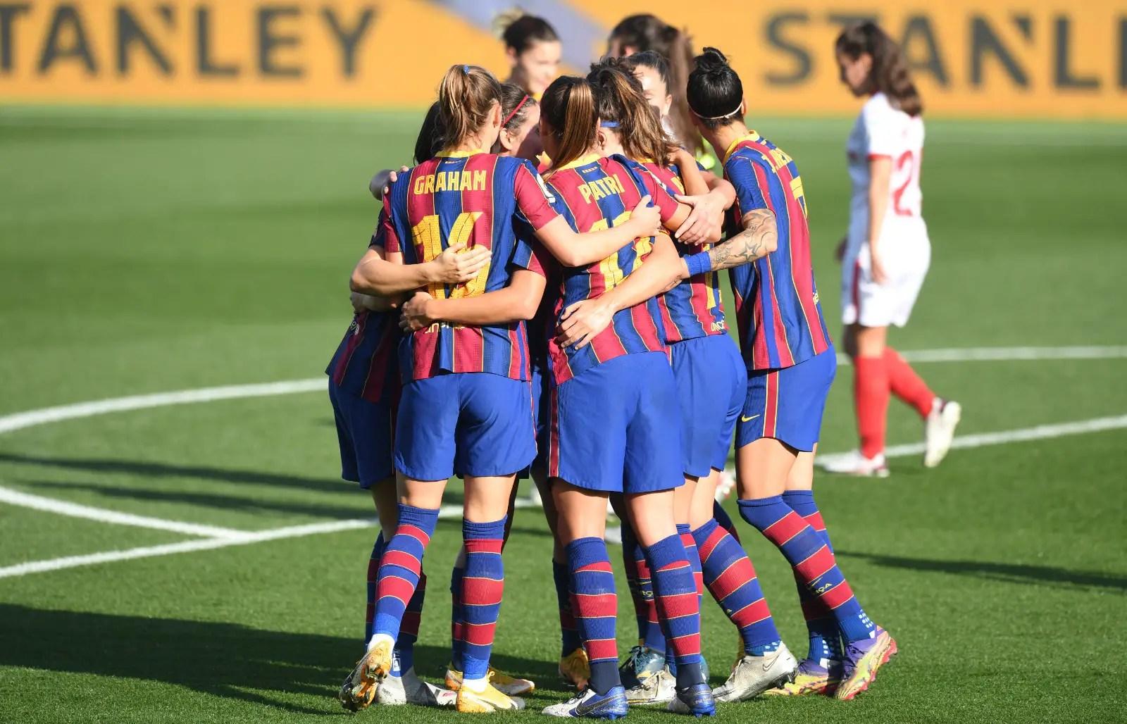 Spain: Oshoala Scores , Bags Double Assist As Barcelona Thrash Sevilla