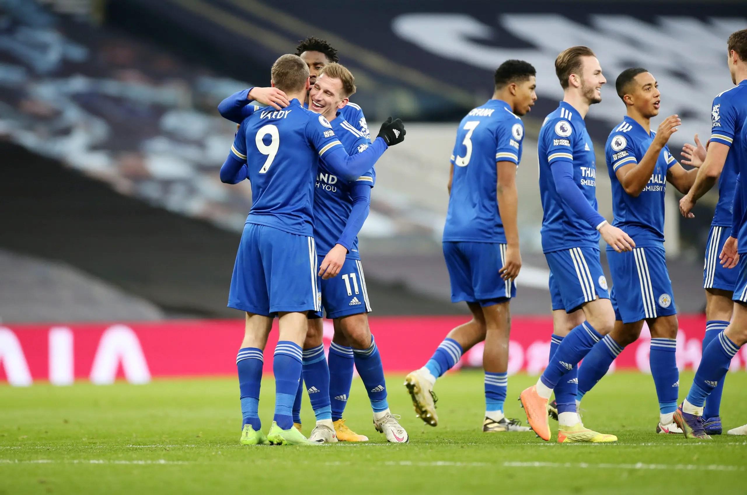 Premier League: Ndidi Shines As Leicester Pip Tottenham, Secure Second Spot