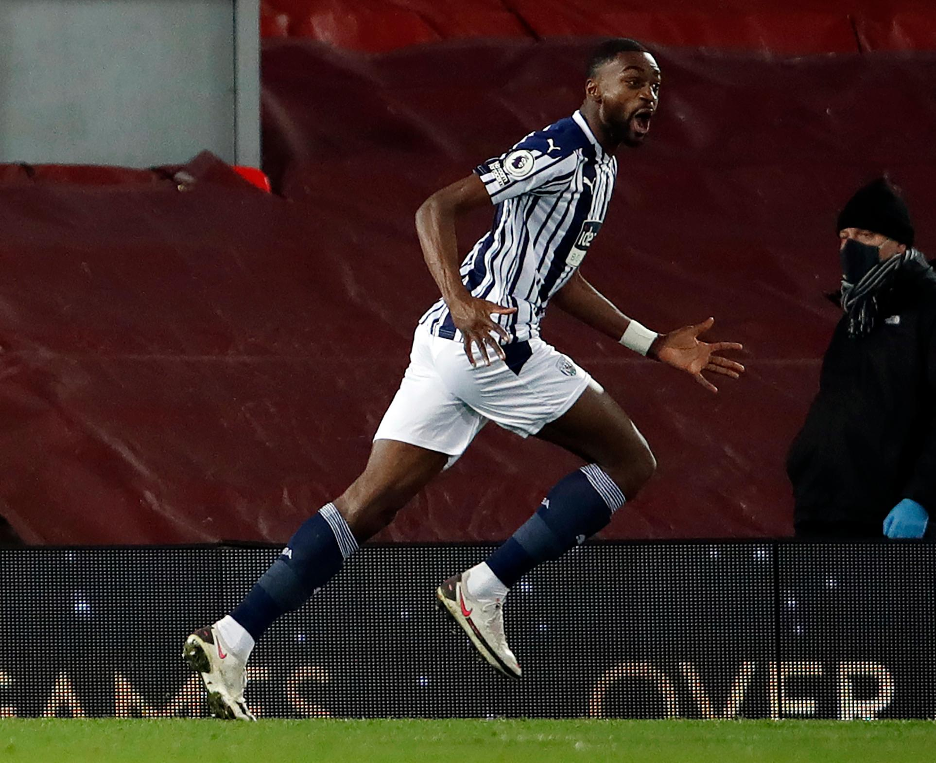 Ajayi Gets Very Good Rating In West Brom's Away Draw Vs Liverpool