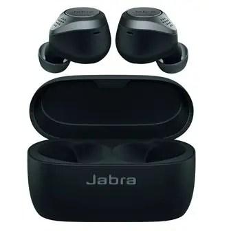 Jabra Elite 75t Earbuds – True Wireless Earbuds with Charging Case, Titanium Black