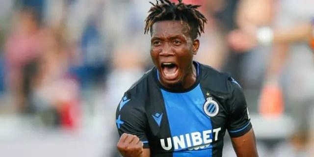 Belgian Jupiler: Okereke On Target, Dennis Benched In 10-Man Club Brugge's Home Win