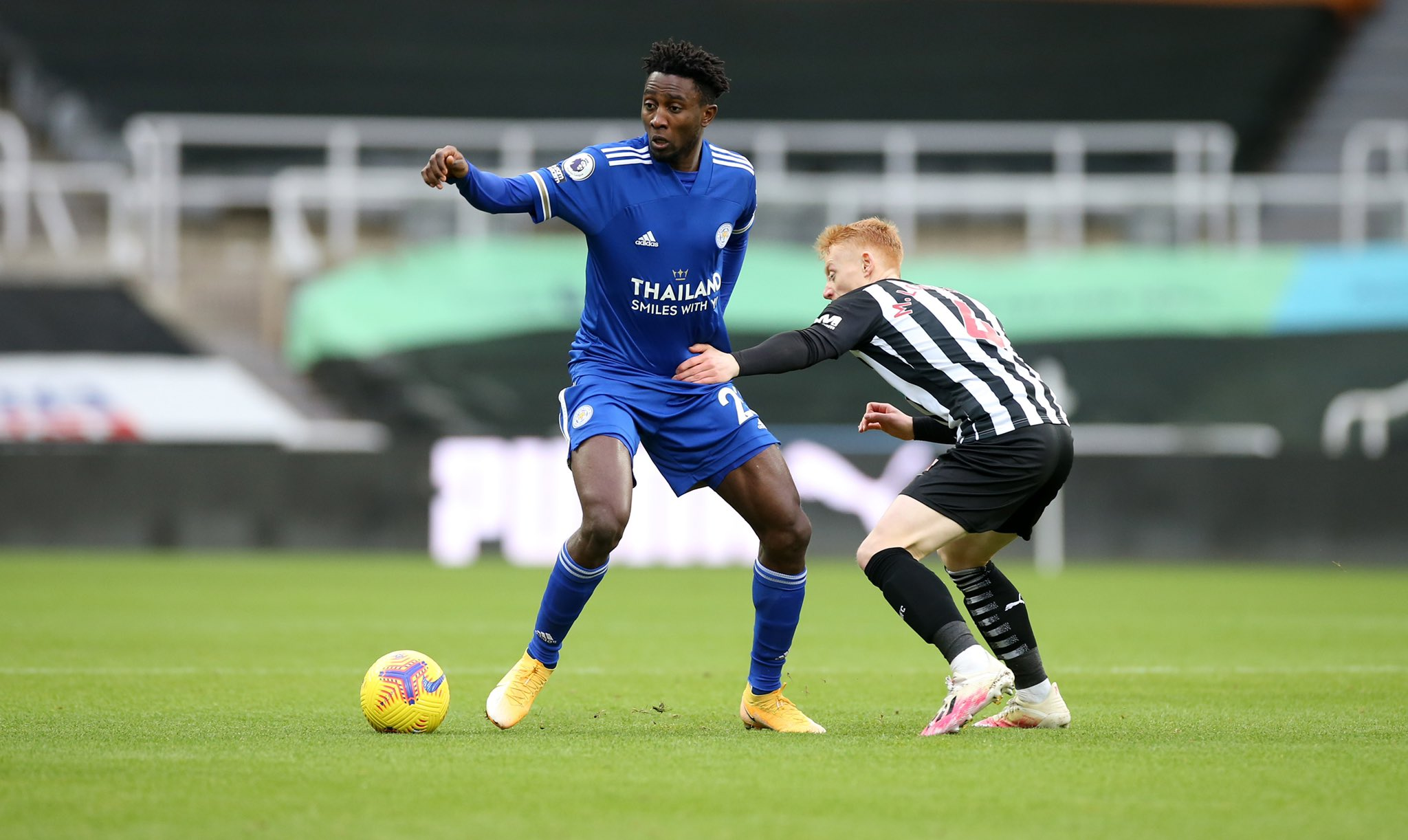 'Great To Start The Year With A Win'- Ndidi Relishes Leicester's  Victory Against Newcastle United