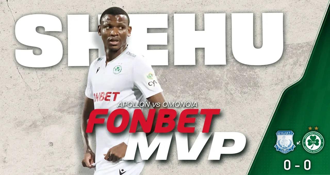 Abdullahi Voted MVP In Omonia Nicosia's Away Draw