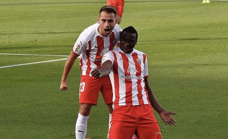 Sadiq Voted Spanish Second Division Player Of The Month For January