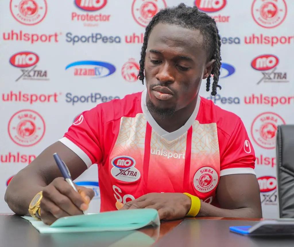 Junior Lokosa Joins Tanzanian Club Simba SC On Short-Term Deal