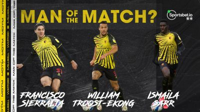 Troost-Ekong Nominated For Watford MOTM Award In Draw Vs Milwall