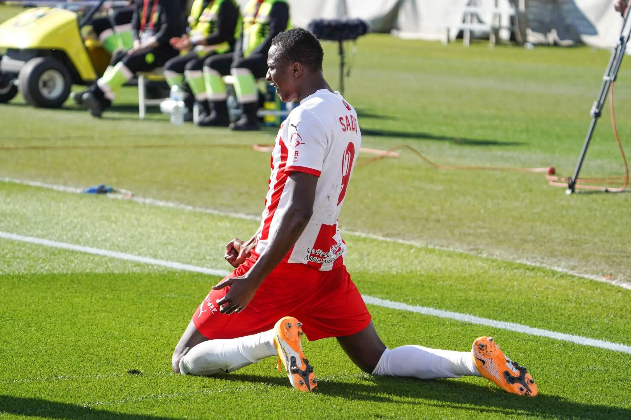 Spanish Segunda: Sadiq Scores, Provides Assist As Almeria Secure Home Win