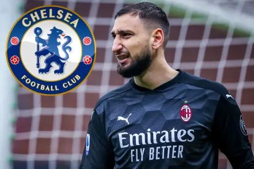 Chelsea In Talks With AC Milan Keeper Donnarumma