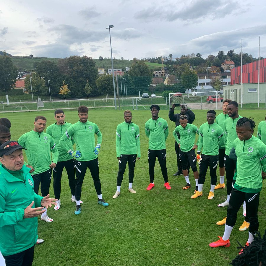 NFF: Rohr To Submit List Of Players For Benin, Lesotho Games Next Week