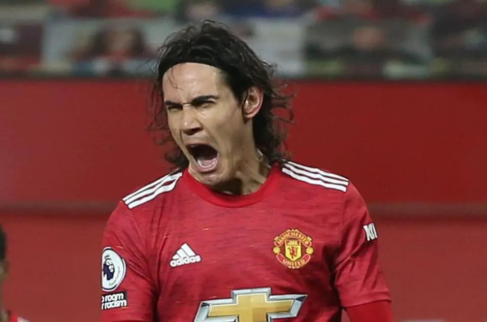 Man United Striker Cavani Gets Two-Game Ban
