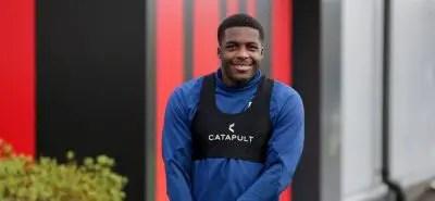 Oforboh Reveals Champions League Dream