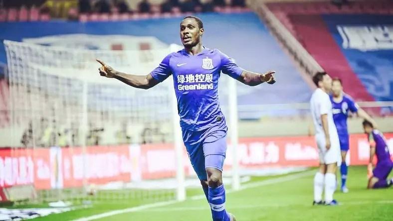 Ighalo Bids Farewell To Shanghai Shenhua Ahead Al Shabab Move