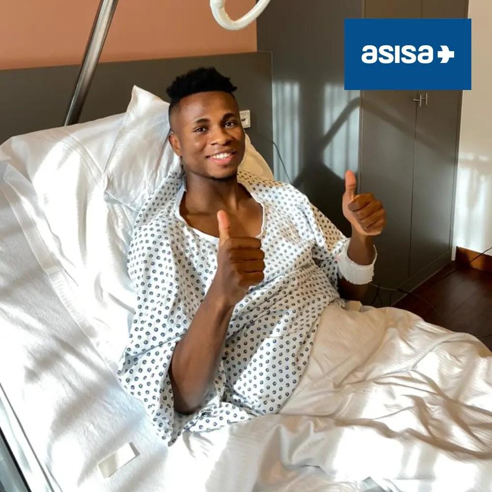 Villarreal Confirm Successful Surgery For Chukwueze