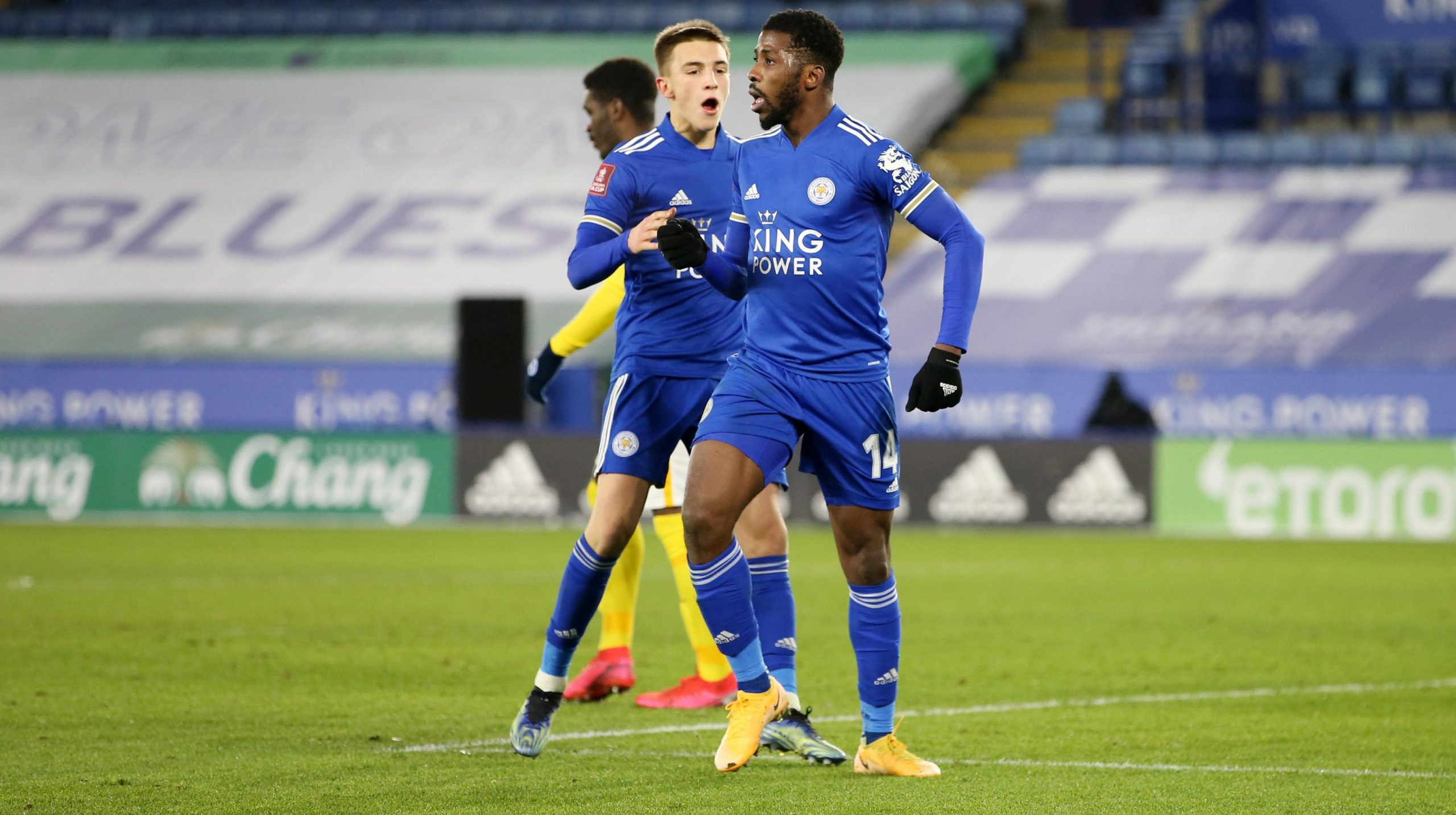 Iheanacho Targets FA Cup Success With Leicester City