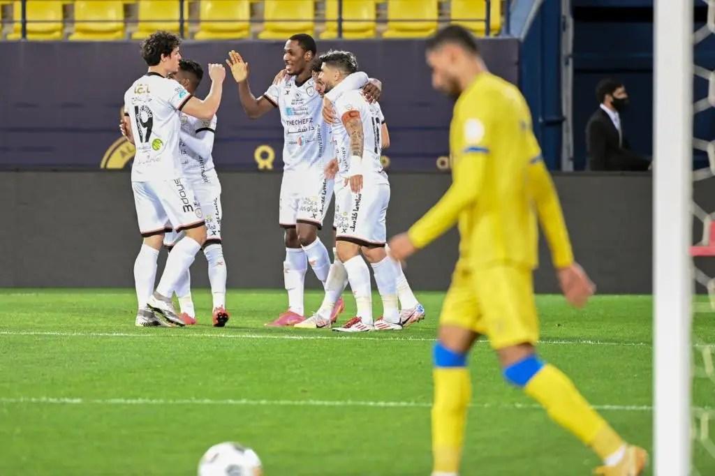 Ighalo Celebrates Maiden Al Shabab Goal