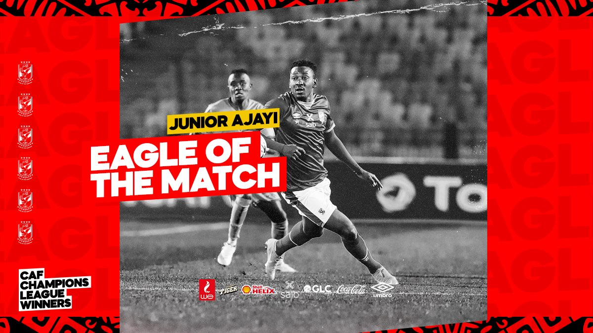 Ajayi Named Man Of The Match In Al Ahly's Win Vs Al Merrikh