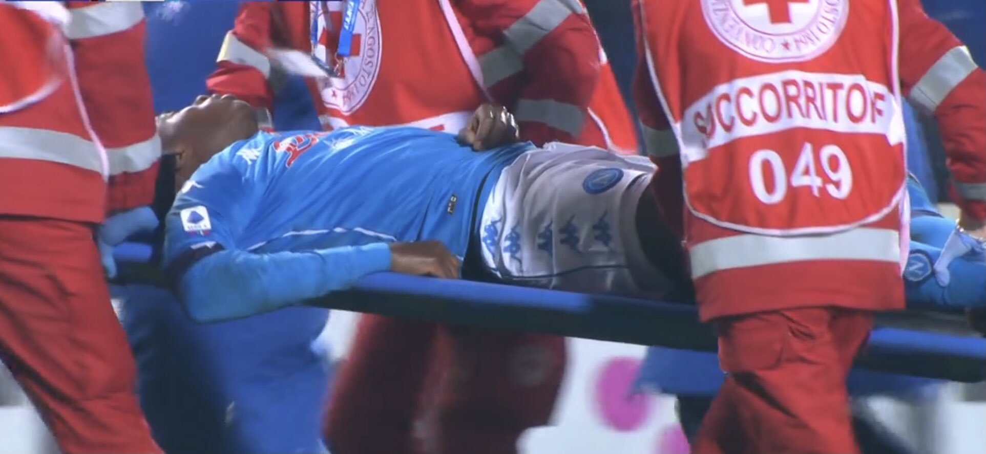 Osimhen Rushed To Hospital After Napoli Defeat To Atalanta