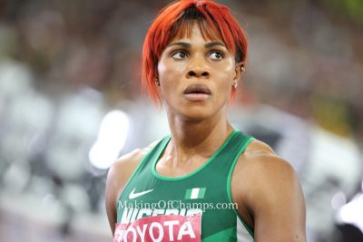 Okagbare Set For First 200m Indoor Race In 10 Years