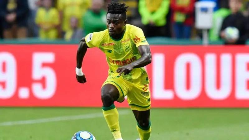 Simon  Stars In Nantes' Away Draw  Against Nimes