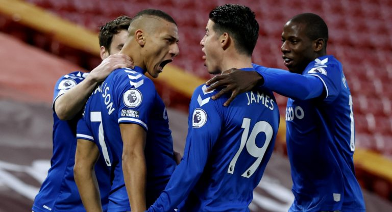 Premier League: Iwobi Subbed On, Helps Everton Claim First Win Vs Liverpool At Anfield In 22 Years