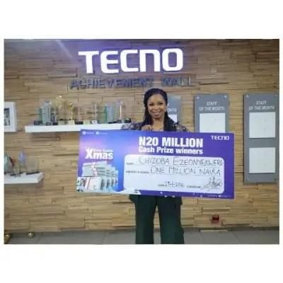 TECNO, 20 lucky Nigerians